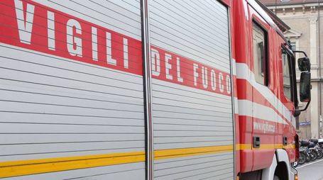 I vigili del fuoco hanno effettuato le verifiche del caso