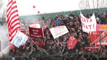 Il pubblico dell'Ancona calcio