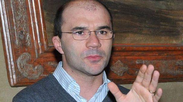 Il sindaco di Reggio, Luca Vecchi (Foto Artioli)