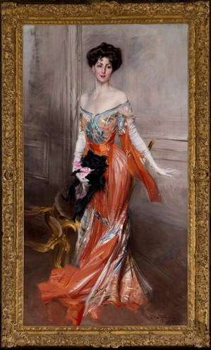 Ritratto di Elisabeth Drexel Lehr, 1905, olio su tela