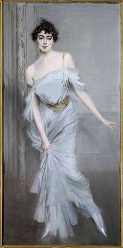 Ritratto di M.me Charles Max, 1896, olio su tela