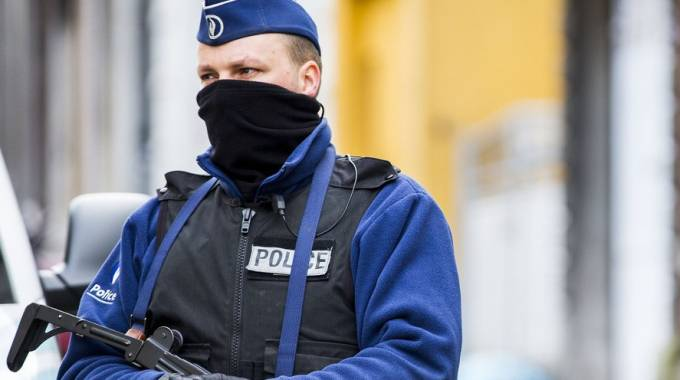 Polizia belga (Afp)
