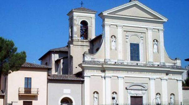 La basilica di San Valentino a Terni