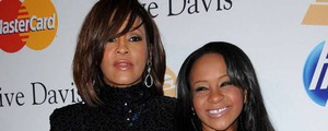 Whitney Houston con la figlia Bobbi Kristina Brown (Olycom)