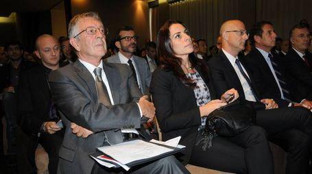 STUDIO SALLY Legnano - Assemblea generale di Confindustria Alto Milanese nella foto Gian Angelo Mainini a SX e Antonella Mansi foto Roberto Garavaglia - Studio Sally