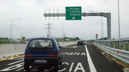 Svincolo Teem da Pozzuolo Martesana in direzione Liscate-Brescia