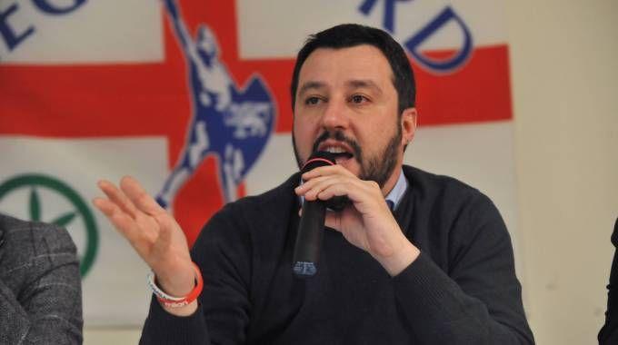 """Brexit, Salvini: """"Gran bel giorno, ora vediamo che succede"""""""