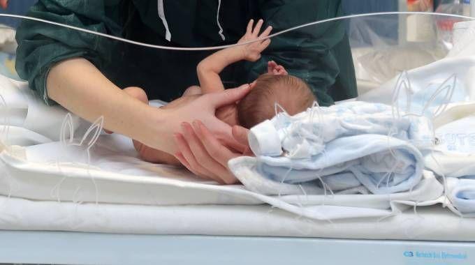 Un neonato (Newpress)