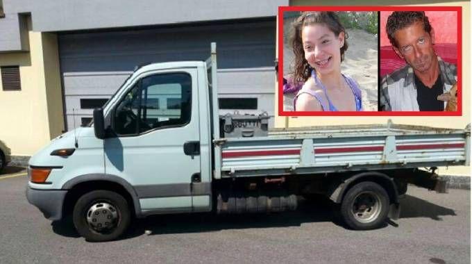 Il furgone cassonato di Massimo Giuseppe Bossetti