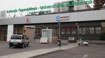 L'ingresso del Policlinico di Modena