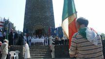Una cerimonia a Sant'Anna di Stazzema (Umicini)