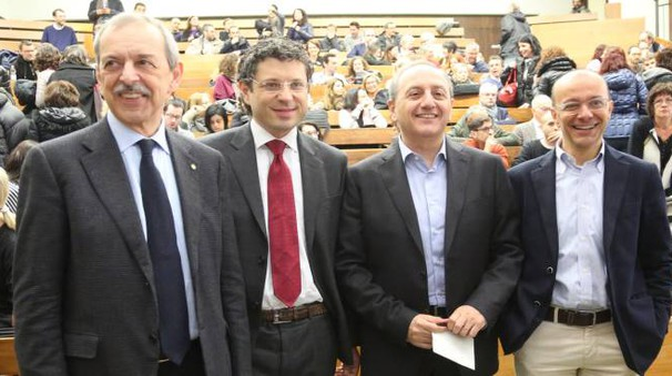 Alma Mater, i candidati rettore Braga, Ubertini, fiorentini e Sobrero (Schicchi)