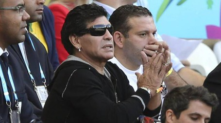 Diego Armando Maradona (Ansa)