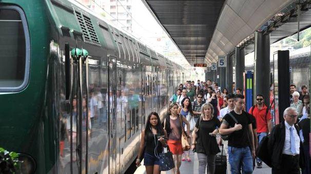 Un gruppo di pendolari