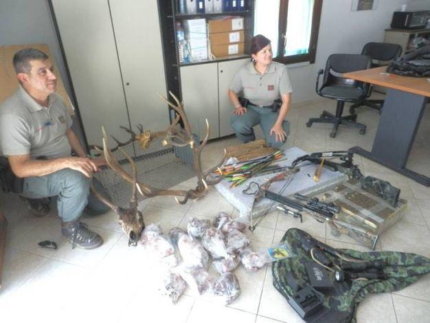 Le armi dei bracconieri