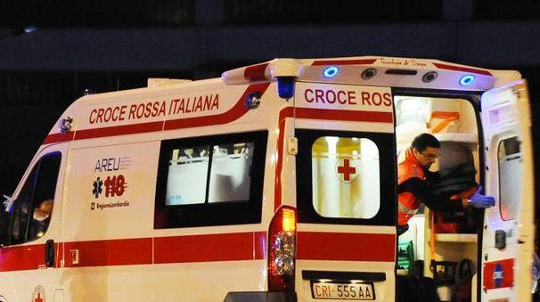 Un'immagine d'archivio di ambulanza (Cusa)