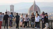 Piazzale Michelangiolo a Firenze (Germogli)