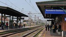 La stazione Fs di Pontedera (foto Germogli)