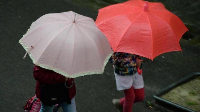 Pioggia (Foto Ansa)