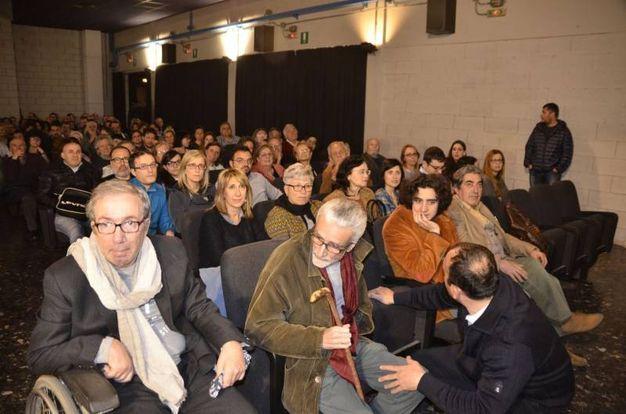 Francesco Nuti alla serata del Terminale (foto Attalmi)