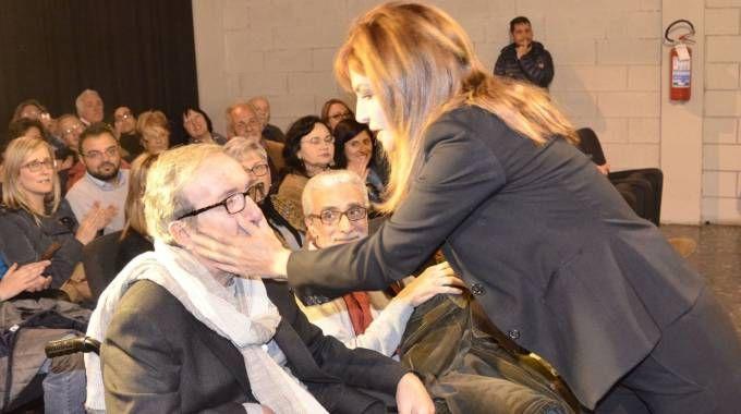 Francesco Nuti e Giuliana De Sio (foto Attalmi)
