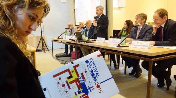 La presentazione di Festival d'Europa (Pressphoto)