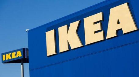 Il marchio del colosso svedese Ikea (Olycom)