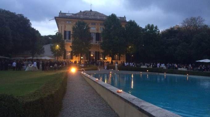 La villa genovese dove il consorzio di rimozione della Concordia ha tenuto il ricevimento