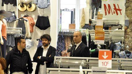 Attesa in città per l'apertura di H & M a Grosseto (Aprili)