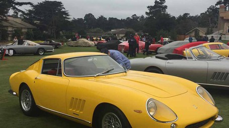Ferrari star a Pebble Beach, le regine dei 70 anni in California