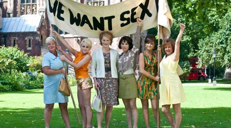 "Un'immagine tratta dal film ""We Want Sex"" di Nigel Cole"