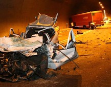 Incidente a Iseo (Fotolive)