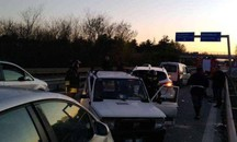 L'incidente in Superstrada a Corridonia