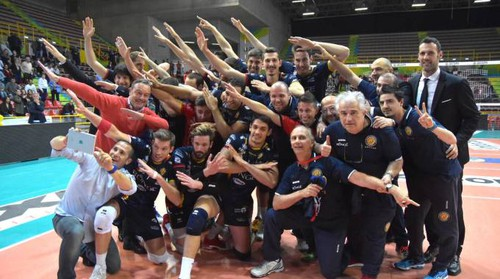 Volley Superlega, la Bunge Ravenna vince e vola in Europa