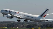 Un aereo Air France (foto d'archivio Newpress)