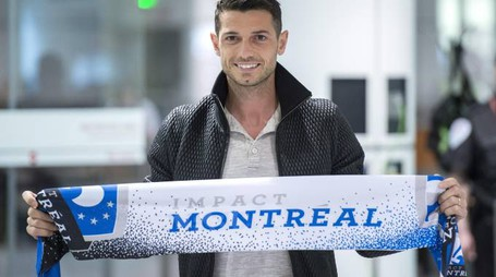 Dzemaili con i colori del Montreal Impact (The Canadian Press)