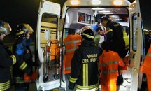 Un'ambulanza (Newpress)