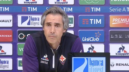 Paulo Sousa in conferenza stampa