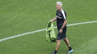 Vladimir Petkovic, allenatore della Svizzera