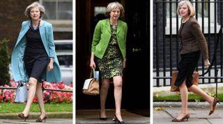 Theresa May eccentrica e dandy. I look della premier modaiola
