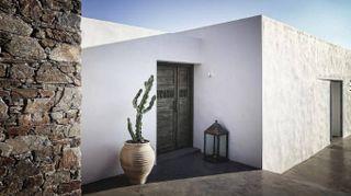 Tradizione e design per una casa vacanze in Grecia
