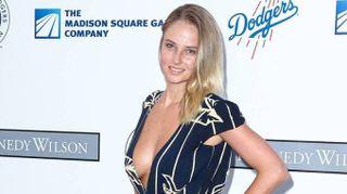 Genevieve Morton, la modella incanta a Los Angeles