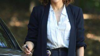 Jennifer Lopez sul set della serie tv 'Shades of blue'