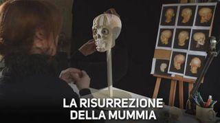 140 ore per far rivivere una mummia
