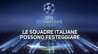 La nuova Champions League sorride all'Italia