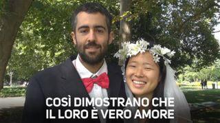 10000km a piedi senza soldi per dimostrare che si amano