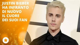 Justin Bieber fa un errore e i fan lo deridono
