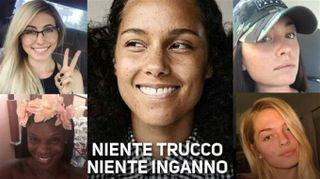 NoMakeUp, altre donne si uniscono ad Alicia Keys