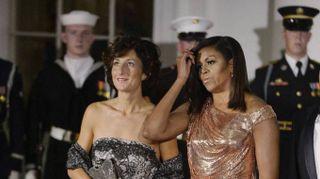 L'eleganza di Michelle e Agnese. Il glamour esplode alla Casa Bianca