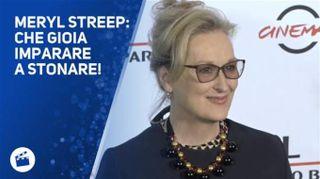 Meryl Streep incanta Roma: 'Amo tutti'